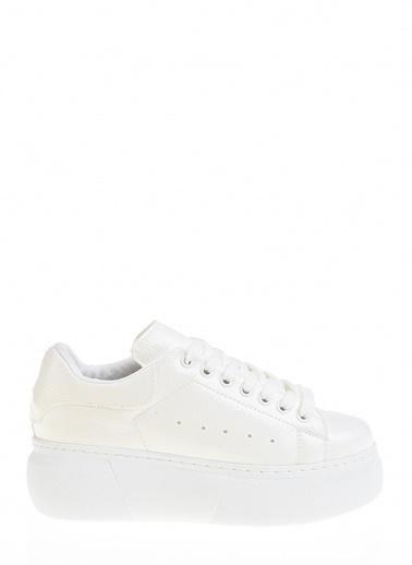 Derigo Beyaz Kadın Günlük Ayakkabı 395011 Beyaz